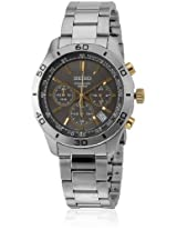 Seiko Analog Multi-Color Dial Men's Watch - ssb057p1