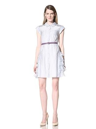 Z Spoke Zac Posen Women's Shirt Dress (Seersucker)