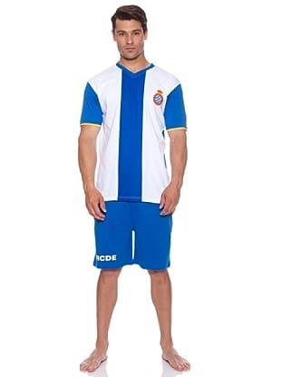 Licencias Pijama Rcd Espanyol (Blanco/Azul)