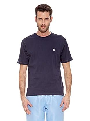Sergio Tacchini Camiseta Manga Corta Daiocco Camiseta Manga Corta Daiocco (Azul Marino)