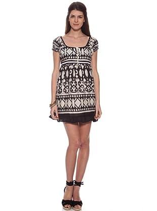 HHG Kleid Narbona (Weiß/Schwarz)
