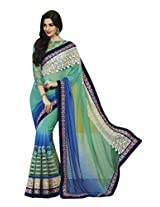 Bhavi Embellished Art Silk Saree