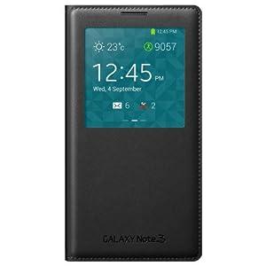 Samsung Open View Side Flip Case for Samsung Galaxy Note 3 N9000 (Black)