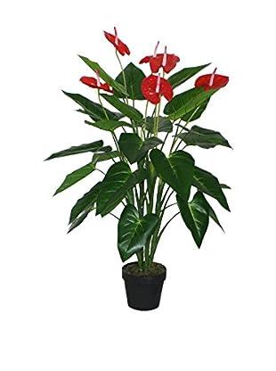 NATURA ACCENT Planta Artificial Anthurium