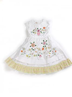 My Doll Kleid (Weiß/Multicolor)