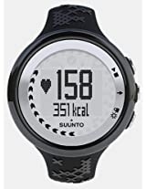 Suunto M5 Heart Rate Monitor Watch - Women - Black/Silver WITHOUT Belt SS015708000
