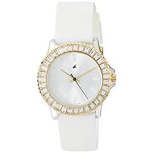 Fastrack NE9827PP01J Women's Watch-White
