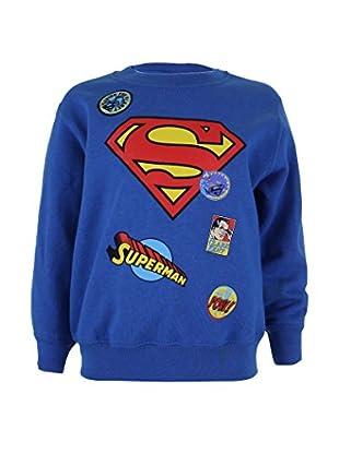 DC COMICS Sweatshirt Superman Badge