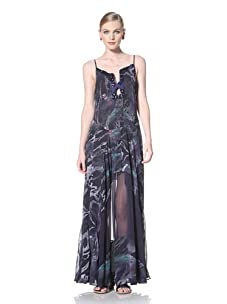 Timo Weiland Women's Selby Gown (Lilly Pad Print)