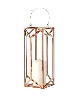 Shiraleah Large Scala Lantern, Copper