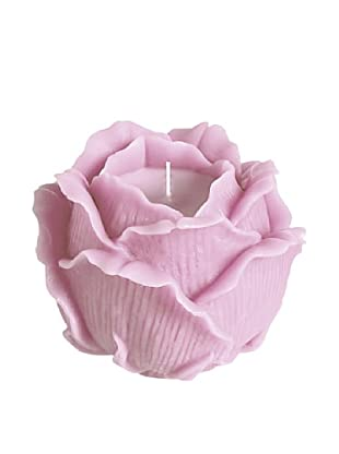 Point à la Ligne Glowing Rose Candle (Pink)