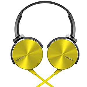 Sony MDR-XB450 On-the-ear Headphone - Yellow