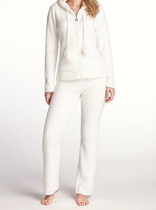 Esprit Bodywear Damen Schlafanzugsjacke R1508/Teddy (Beige (RG))