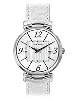 Claude Bernard Analogue White Dial Women's Watch - 21203 3 AIN