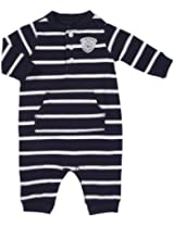 Carter's Baby Boys' Knit Jumpsuit - Navy/White Stripe - 3 Months