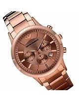 Emporio Armani AR2452 Rose Gold Mens Watch