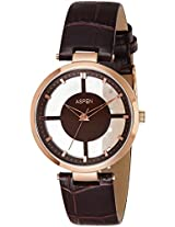 Aspen Analog Brown Dial Women's Watch - AP1881