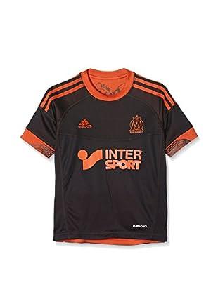adidas Camiseta de Fútbol Maillot Foot Om 3 Jsy Synthetique Jr