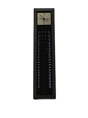 Jon Gilmore Phantom Wall Clock (Silver/Black)