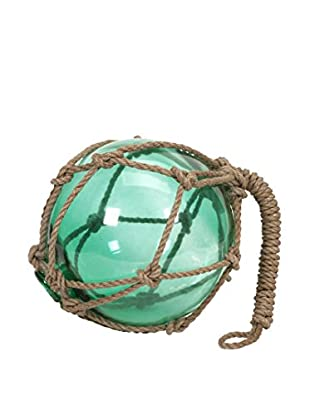 Teal Buoyant Glass Float