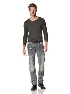 MOD Men's Yannick Straight Leg Jeans (Flint Grey)
