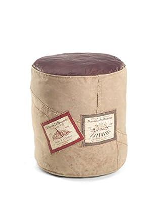 Novità Home Pouf Wine Marrone Chiaro/Marrone Scuro
