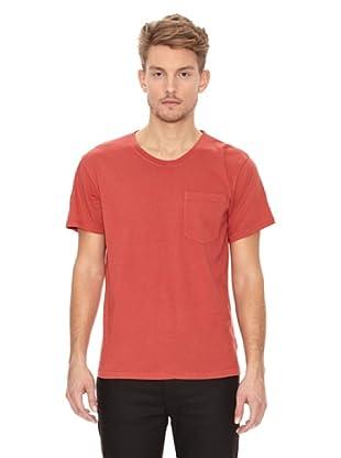 Nudie Jeans Camiseta Básica (Rojo)