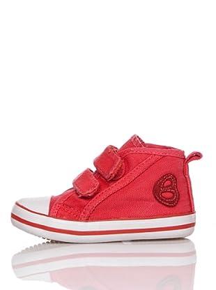 Billowy Botas Velcros (Rojo)