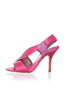 Bourne Women's Connie Slingback Sandal (Crimson)