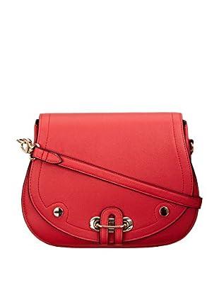 Louche Bags Womens Pasadena Cross-Body Bag (Red)