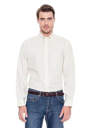 Brooks Brothers Camisa Vestir René (Amarillo / Gris)