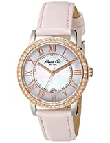 Kenneth Cole Analog Mother of Pearl Dial Women's Watch - IKC2845