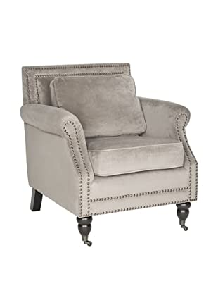 Safavieh Karsen Club Chair, Mushroom Taupe