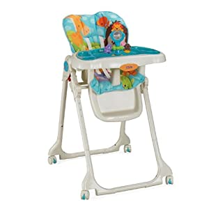 Fisher-Price Fisher-Price Precious Planet High Chair, Sky Blue