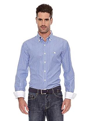 Toro Camisa Rayas Finas (Azul)