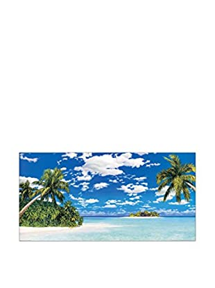 ArtopWeb Panel de Madera Amstici Isola Tropicale