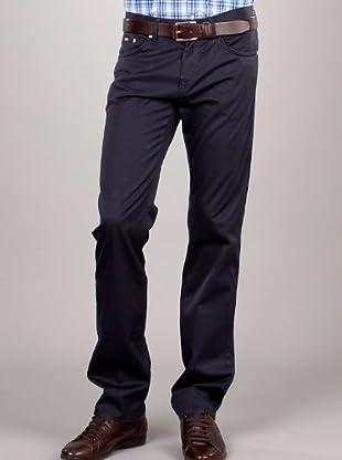 Hugo Boss Pantalón 5 Bolsillos (azul marino)
