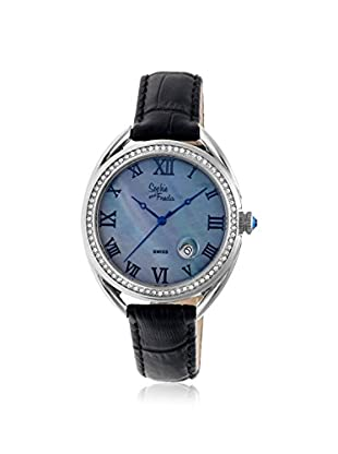 Sophie and Freda Women's SF2901 Austin Black Leather Watch