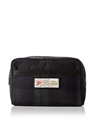 The British Belt Company Men's Broadshaw Dopp Kit (Blackwatch Check)