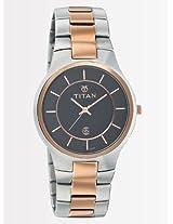 Titan Basics 9384KM02 Watch - For Men