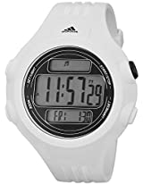 Adidas Adp6083 White Digital Watch With Polyurethane Band - Adp6083