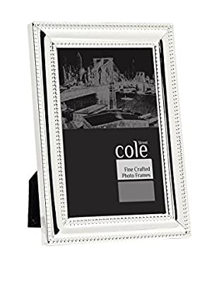 Philip Whitney Double Bead Frame (Silver)