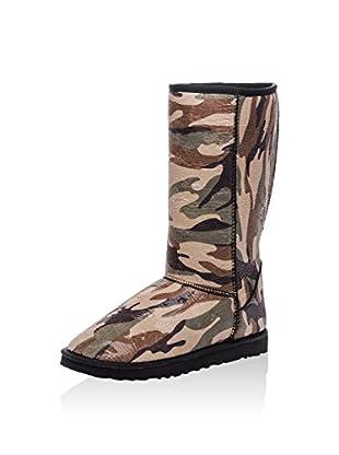 Los Ojo Botas de invierno Camouflage