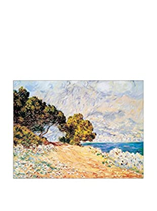 ArtopWeb Panel de Madera Monet Cap Martin 80x60 cm