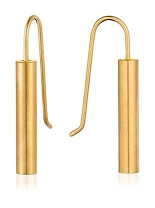 steel art Ohrringe Sagitta Rohr goldfarben