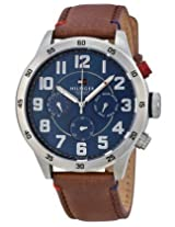 Tommy Hilfiger Men's 1791066 Analog Display Quartz Brown Watch