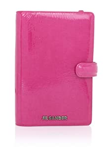 JIL SANDER Women's Patent Agenda Book (Dark Pink)