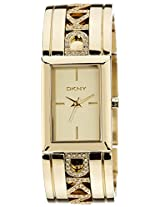 DKNY Analog Gold Dial Women's Watch - NY8401