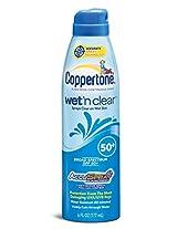 Coppertone Wet'N Clear C Spray Spf 45+-6 Oz