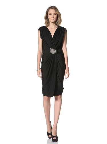 Paul & Joe Women's Imberlin Sleeveless Dress With Waist Gathering (Black)